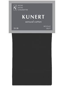 SENSUAL COTTON - calzini donna Kunert