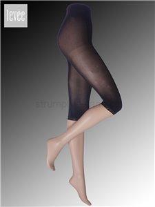 Leggings mit Spitze - 399 nero