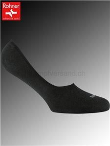 SNEAKER LOW calzini corti Rohner - 009 nero