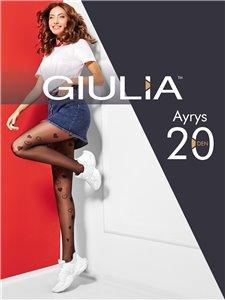 AYRYS 20 - collant Giulia con cuori