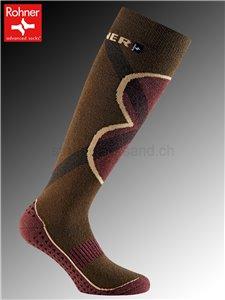ECO JET calzini da sport sostenibili di Rohner - 181 khaki