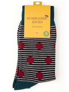 RED BERRIES - calze Bumblebee per uomo e donna