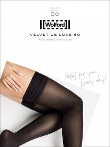 calze autoreggenti Wolford - VELVET DE LUXE 50