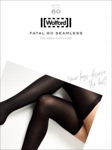 calza autoreggente WOLFORD - FATAL 80