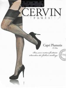 CERVIN Capri Plumetis 15 - calze nylon
