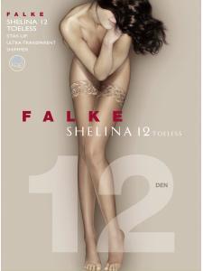 SHELINA 12 TOELESS - calze autoreggenti