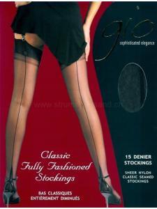 NYLONS POINTED HEEL - GIO Stockings